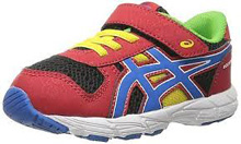 Asics 60% Off Bounder TS Running Shoes Fiery Red/Blue/Black