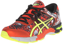 Asics 60% Off Gel Noosa Black/Flash Yellow/Orange