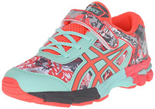 Asics 60% Off Gel Noosa Tri 11 PS Running Shoes White/Diva Pink/Mint