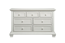 Oxford Baby Cottage Cove 7 Drawer Dresser in Vintage White