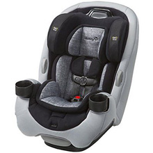 Dorel Safety 1st Grow and Go Ex Air Convertible Car Seat Grey-Black