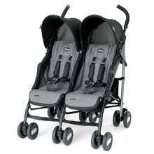 Chicco Echo Twin Stroller Coal