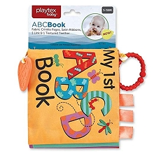 Baby King Teether Baby 1st  Teething ABC Book