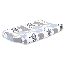 Farallon Little Peanut Navy  Changing Pad Cover