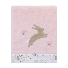 Nojo Appliqued Fleece Blanket Woodland Wreath