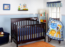 Little Bedding #1 Team 10 Piece Crib Bedding Set