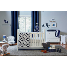 Happy Chic Baby by Jonathan Adler Taylor 4 Piece Crib Bedding