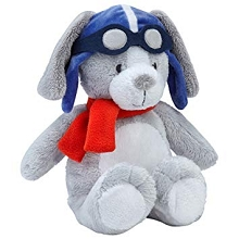 Crown Craft Carter's Stuff Animal Plush Puppy