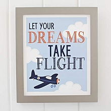 Crown Craft Carter's Take Flight Wall Decor