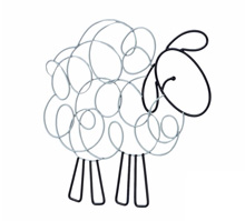 NoJo® Good Night Sheep Wire Wall Art