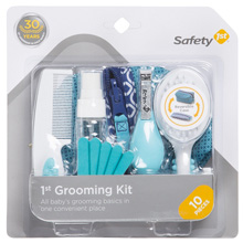 Safety 1st Grooming Kit Arctic Blue, 10-Pieces