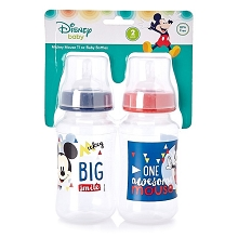 Disney Baby Mickey Mouse  2 Pack Bottle 11 Ounce