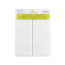 Cuddle Time 2 Pack CHanging Pad Cover in White