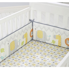 Cuddletime Globetrotter Crib Bumper
