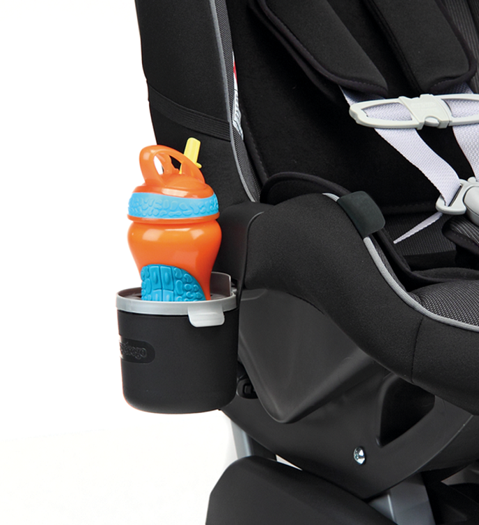 how to put baby in peg perego car seat