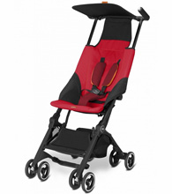Columbus Trading Cybex Pockit Stroller Dragonfire Red
