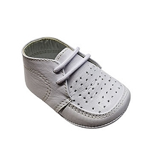 Karela Kids Leather Shoes Boy White