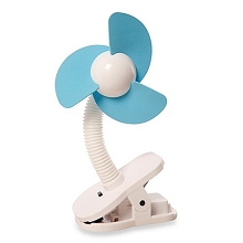Dreambaby Stroller Clip-on Fan White-Blue Foam 0+