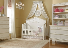Dolce Babi Angelina Furniture Set in French Vanilla
