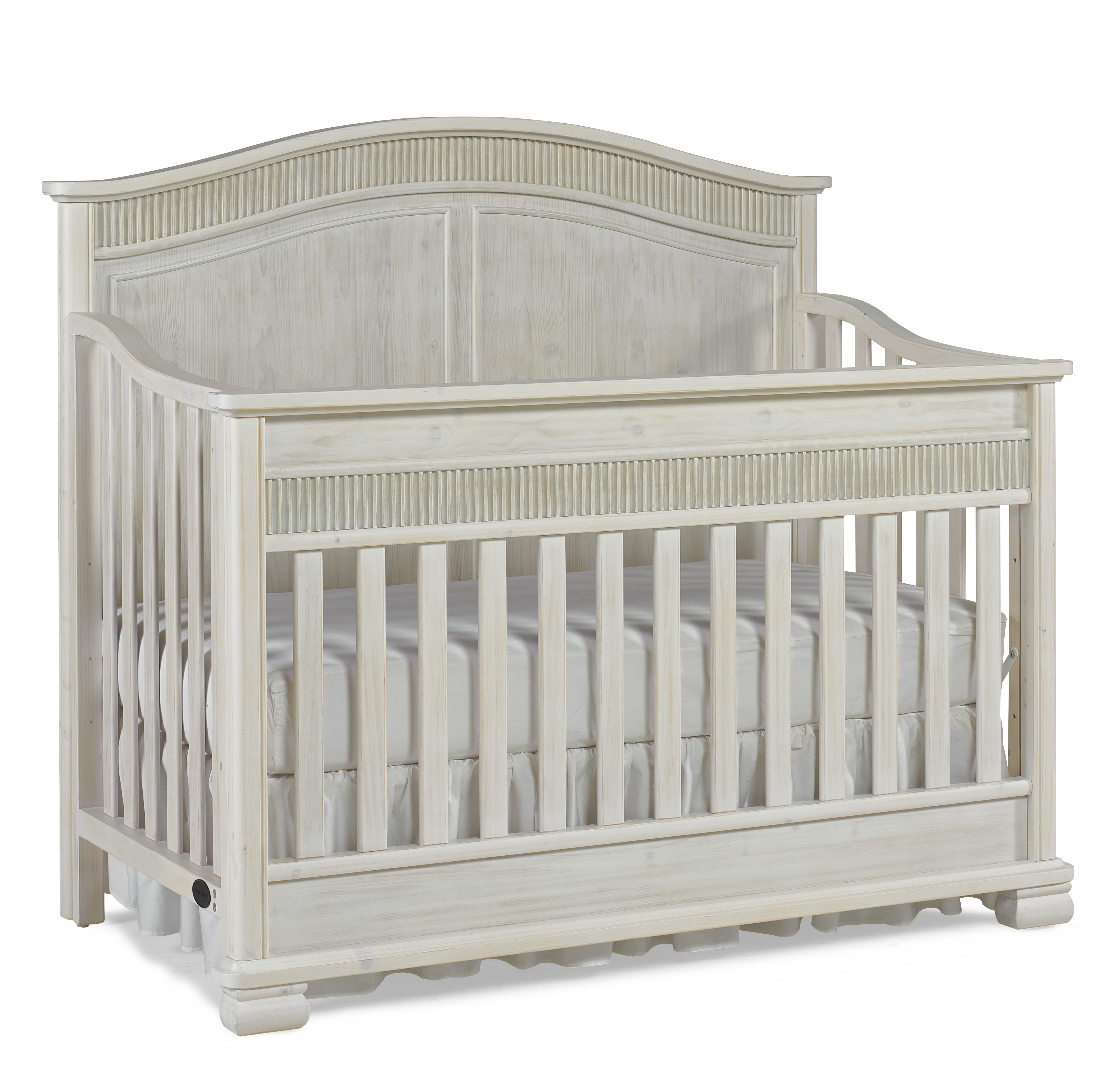 Dolce Baby Florenza Full Panel Convertion Crib Sugar Cane