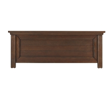 Dolce Babi Lucca Low Profile Footboard for Conversion Crib Weathered Brown