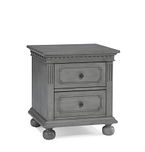 Dolce Babi Naples Nightstand, Nantucket Grey