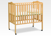Delta Foldaway Portable Crib Natural