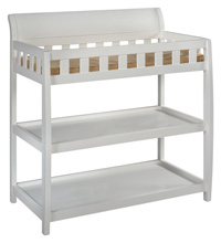 Delta Children Bentley Changing Table, White