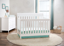 Delta Haven 4-in-1 Crib White