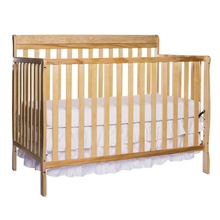 Dream On Me Alissa 4 in 1 Convertible Crib in Natural
