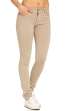 U.S.Polo 50% Off Stretch Pant Girl, Khaki