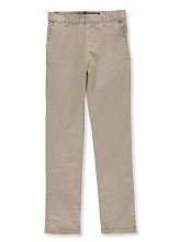U.S Polo 50% Off School Uniform Flat Front Stretch Pant Boy, Khaki
