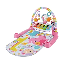Fisher Price Deluxe Kick and Play Piano Gym, Pink