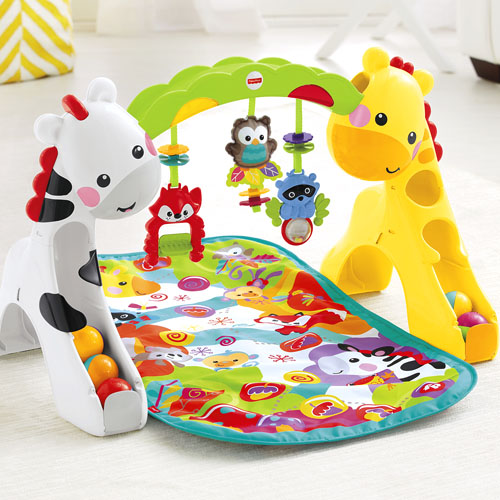 fisher price newborn to toddler play gym ideal baby rh idealbaby com Turn and Bounce Zebra Bounce and Spin Zebra