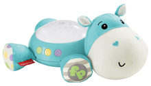 Fisher Price Cuddle Projection Soother - Hippo