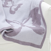 Lambs & Ivy Signature French Lavender Blanket