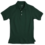 French Toast 60% Off Only $4.00 Boy Pique Polo, Hunter Green
