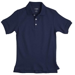 French Toast 50% Off School Uniform  Boy Pique Polo, Navy