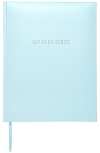 C.R.Gibson Boy, Blue Bonded Leather Memory Book