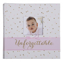 Carter's Slim Bound Photo Journal Album - Sweet Sparkle