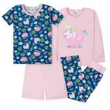 Gerber Snug Sloths 4-Pieces Pajama Set, Girl, 12 Months