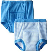 Gerber Little Boys' 2 Pack Training Pants - Blue, 18 Months