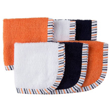 Gerber Baby-Boys  6 Pack Woven Washcloths
