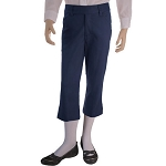 French Toast 50% Off School Uniform Girls Stretch Capri Pants, Navy