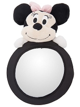 Disney Baby Travel Mirror Minnie Plush