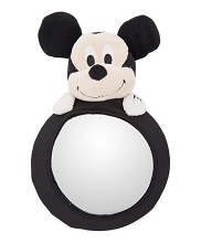 Disney Baby Travel Mirror Mickey Plush