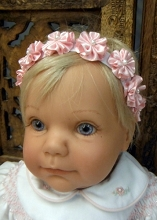 Will'beth Elastic Headband with Flower