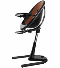 Mima Moon 2G High Chair Black-Camel