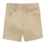 French Toast 50% Off School Uniform Toddler Girl Pull-On Short, Khaki