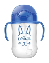 Dr Brown's Baby's First Straw Cup 9 Ounce Blue